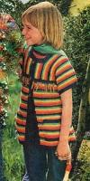 Dětská vesta tvaru T
